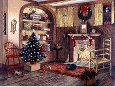 Hanging Stockings ~ by Charlotte Joan Sternberg