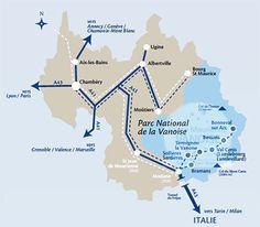Pour venir en Haute Maurienne Vanoise, rien de plus facile !
