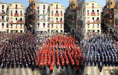 Corfu is known as a summer destination, but the Greek island has also a less known artistic side fueled by its 18 philharmonic marching bands! Corfu Island, Corfu Greece, Greek Islands, Marching Bands, Vacations, Summer, Exotic, Pearls, Travel
