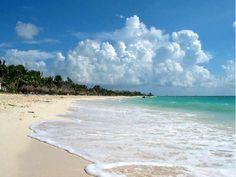 Beach in Mexico.