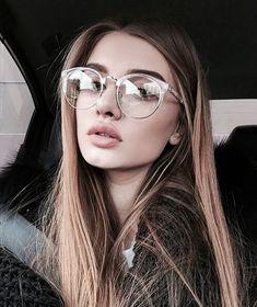 2018 Most Wanted Chic Brille für Mode Mädchen - Eyeglasses - Glasses Hipster Glasses, Cute Glasses, Girls With Glasses, Girl Glasses, Makeup For Glasses, Clear Glasses Frames Women, Glasses For Round Faces, Cat Eye Sunglasses, Sunglasses Women