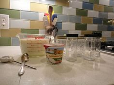 Here is a great idea posted on the Crunchy Betty site for making your own yogurt.  It is so easy to do, who knew?  And you don't even need any special equipment for it.