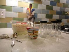 coupons, back splashes, crunches, heating pads, homemade yogurt