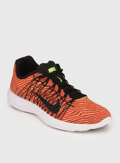 Nike Lunaracer+ 3 Red Running Shoes for Men On LooksGud.in  #Nike, #Red, #RunningShoes