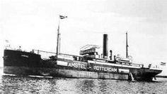 2 april 1919 Het vrachtschip ss 'Amstel' (1917)   http://koopvaardij.blogspot.nl/2015/04/2-april-1919.html