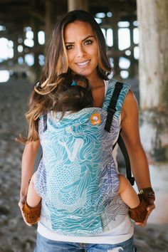 TULA Baby Carriers | Toddler Carriers — (Standard Size) Full Wrap Conversion Tula Baby Carrier - TULA Lorelei
