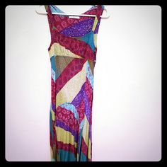 Cant?o maxi dress A must for the summer, wonderful colors, super bohemian dress. Made in Brazil. From Cant?o Cant?o  Dresses Maxi