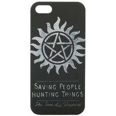 Supernatural The Family Business iPhone 5 Case | Hot Topic ($10) ❤ liked on Polyvore featuring accessories, tech accessories, phone cases, phones, supernatural and tech