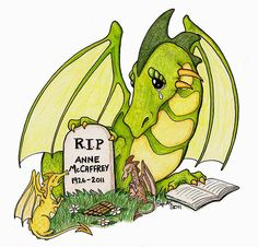 We lost another Great Author this week. I would not be who I am without Annie, God rest her soul. Captain Haddock, Anne Mccaffrey, Author, Reading, Annie, Dragons, Books, Rest, Fictional Characters