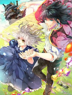 Wow!) Howl&Sophie!)