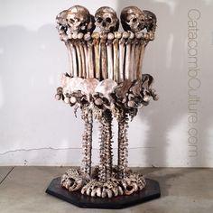 Custom Human Bone Lamp Catacomb Culture Https Www Etsy Catacombculture Decor Art Pinterest Room