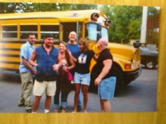 Summer Bus Party 4 Boardwalk friends still have um or one since then, maybe 2?