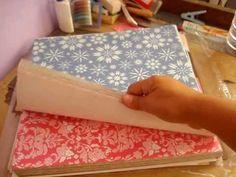 Scrapbooking/ scrapbook para principiantes: Materiales básicos/ papeles y Cartulinas Scrapbook - YouTube