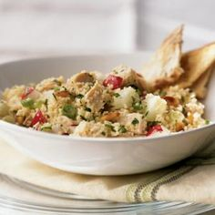 Chicken and Couscous Salad Recipe | MyRecipes.com