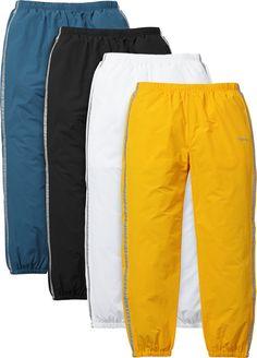 Supreme 3M® Reflective Stripe Track Pant