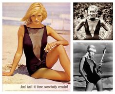 The Cole of California 'Scandal Suit' made headlines upon its debut in 1964. Edie loved hers....could have been a hand me down from Jaqueline.