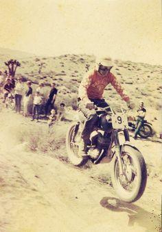 Vintage desert racing