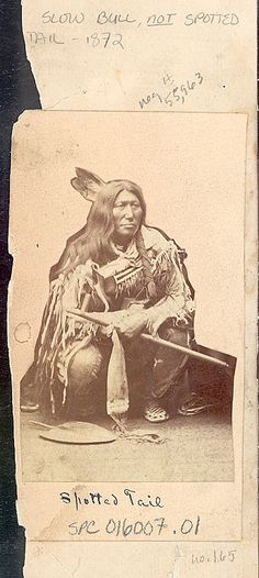 Slow Bull, Oglala, 1872 год