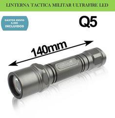 Linterna militar LED CREE XR-E Q5 UltraFire