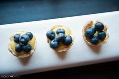 mini blueberry tartlets   http://rafatiscatering.com/  Mosca Photo