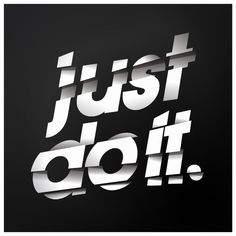 Just do it #design #webdesign #typography