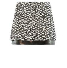 Diane von Furstenberg Elley mini skirt on shopstyle.com