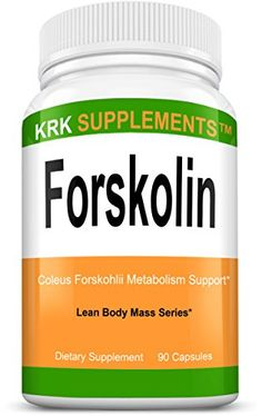 1 Pack Forskolin Coleus Forskohlii Root Extract 125mg Standardized to 20% Yielding 25mg Active Forskolin 90 Capsules KRK Supplements >>> Want to know more, click on the image.