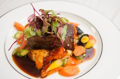 Slow and Low - our Braised Beef Short Ribs Photo By France Photographers