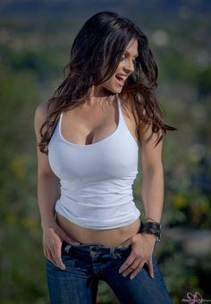Beautiful Denise Milani