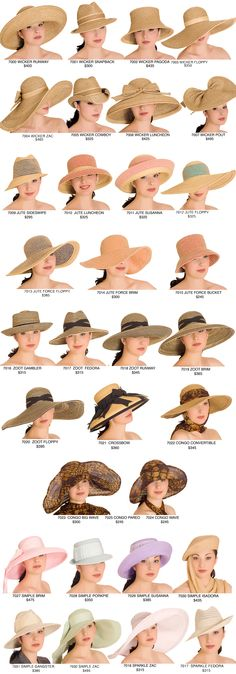 Hats from Kokin New York