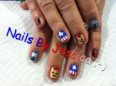 The Avengers - Nail Art Gallery by NAILS Magazine