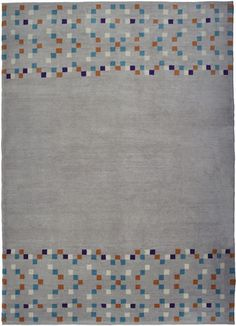 Contemporary rug / wool / patterned / handmade SQUARES Christopher Farr