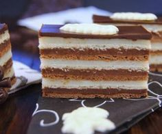 Madjarica - scroll down for English translation Chocolate Pictures, Hungarian Recipes, Hungarian Food, Sugar Cravings, Cream Pie, What To Cook, Cookie Dough, Vanilla Cake, Cookie Recipes