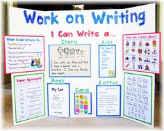 good ideas for writing center area
