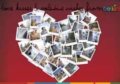 Love, kisses & Valentine wishes from Belize.