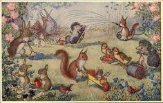 Here We Go Gardening by Molly Brett Dressed Animals