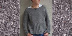 Шерстяной пуловер без швов, вязаный сверху. Пуловер регланом из чистошерстяной пряжи вязаный спицами сверху вниз без швов с широкой резинкой.