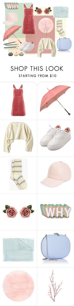 """""""Overall"""" by helene-franck ❤ liked on Polyvore featuring Topshop, Pasotti Ombrelli, Uniqlo, Talbots, Amici Accessories, Dolce&Gabbana, Big Bud Press, Chanel, Jeffrey Levinson and Pier 1 Imports"""
