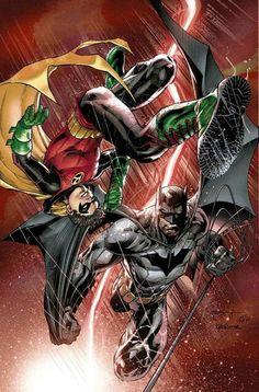 Batman & Damian Wayne