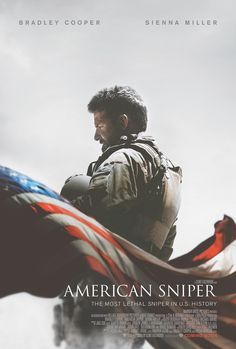 THEY HAVE A MOVIE COMING FOR IT!  Official poster for American Sniper. #Poster #AmericanSniper
