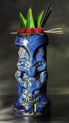 Tiki mug - Modern Tiki Art, Tiki Tiki, Tiki Torches & Oil Lamps, Cocktail Bar Design, Tiki Glasses, Tiki Hawaii, Tiki Decor, Tiki Lounge, Bar Logo