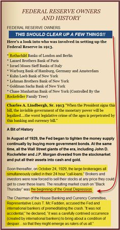 biggest scam in history the federal reserve system federal  federal reserve bandits