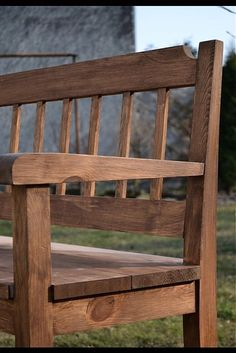 Hrabos / hnědá lavice Outdoor Furniture, Outdoor Decor, Benches, Home Decor, Furniture, Stools, Homemade Home Decor, Decoration Home, Yard Furniture