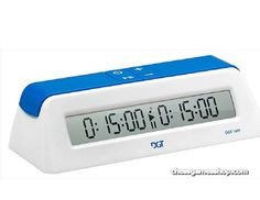 DGT 1001 digital chess clock / timer - Newest clock - just released The DGT… Chess Store, Luxury Chess Sets, Chess Books, Off Grid Batteries, Digital Clock Radio, Logic Games, Timer Clock, Lead Acid Battery, Handbags On Sale
