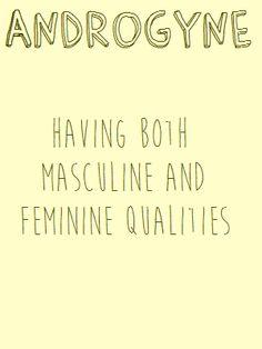 Different Gender Types
