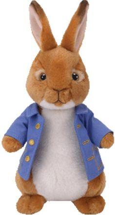 71e5c849b5f TY Beanie Babies Peter Rabbit Collection plush soft toy kids children gift  21cm