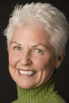 9.Short Hair Style for Older Women