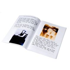 My Life Story Books for elderly people with dementia is easy to compile, space for photograph's and personal memories, tips for use included