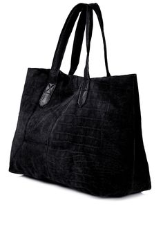 Photo 3 of Suede Embossed Shopper Bag