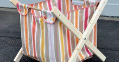 DIY: laundry hamper